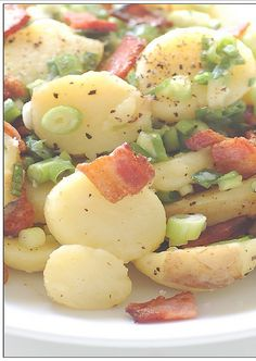 German Potato Salad - I want to make this soon for my hubby.