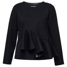 Doriane van Overeem via Acreati Rosemary Black Sweater