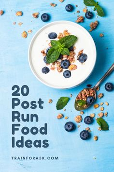 The point of post-run fuel is to replace nutrients lost during exercise, encourage muscle repair and feel good! Instead of reading the studies, conduct your own by experimenting with the foods from this list! Beginner Running, Running Tips, Runners Food, Yogurt Chicken Salad, Recovery Food, Kind Bars, Best Thai, Veggie Sandwich, Nutrient Rich Foods