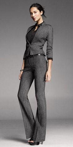 Men's and Women's Clothing - Shop jeans, dresses, and suits Office Fashion Women, Curvy Women Fashion, Womens Fashion For Work, Work Fashion, Corporate Attire, Business Attire, Business Fashion, Suits For Women, Clothes For Women
