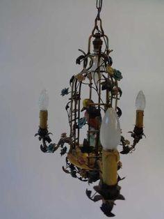 91393f03dddb32ad517f065d5c166b95  auction 10 Merveilleux Lustre à Pampilles Kjs7