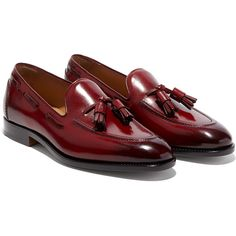 Salvatore Ferragamo Tassel Loafer (87.405 RUB) ❤ liked on Polyvore featuring men's fashion, men's shoes, men's loafers, mens tassel shoes, mens loafers shoes, mens lace up shoes, mens leather sole shoes and mens tassel loafer shoes