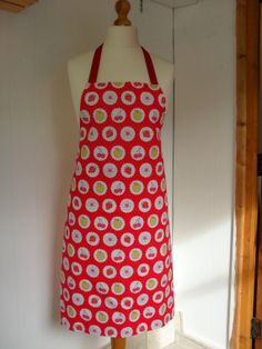 Full Length Red with Summer Fruits Reversible by LDCcreations, £19.50