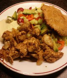 Kip shoarma, voor het volledige recept bezoek onze website!