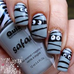 29 super ideas nails design halloween simple - New Ideas Halloween Acrylic Nails, Halloween Nail Designs, Easy Halloween Nails, Halloween Ideas, Holloween Nails, Beautiful Halloween Makeup, Simple Nail Designs, Nail Art Designs, Nails Design