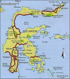 Sulawesi, Indonesia (formerly known as Celebes)