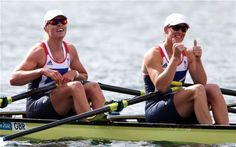 London 2012 Olympics: Katherine Grainger and Anna Watkins smash record in rowing double sculls