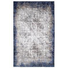 Tufted Blue/Grey/Beige Rug