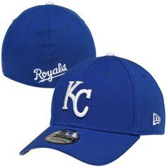 new products ac5ac 06a3d ... good new era kansas city royals team classic 39thirty flex hat royal blue  royals baseball 6fbe7