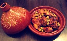 recipe Here is a specialty of my native Morocco Marinated chicken tajine with lemon confit and olives Source by marieatienz
