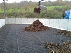 Biofiltro a servizio dell'impianto di abbattimento odori provenienti da locali di stabilizzazione pollina