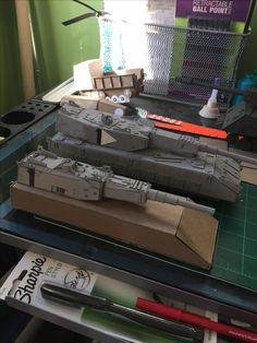 military model building from scratch by Tony b ISM!