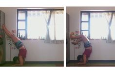 yoga in my room