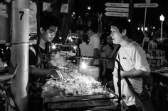 Some steamy fish balls I think from a street hawker. Night before King's birthday, Bangkok, Thailand King Birthday, Thai Street Food, Balls, Thailand, Fish, Ichthys