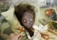 Teh_sickies_No_School_Today_by_Fangfingers horror wallpaper