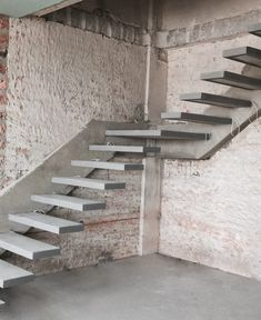 Useful Information About Staircase And Their Details - Engineering Discoveries Spiral Stairs Design, Staircase Design Modern, Home Stairs Design, Modern Stairs, Railing Design, Interior Stairs, Cantilever Stairs, Concrete Staircase, Floating Staircase