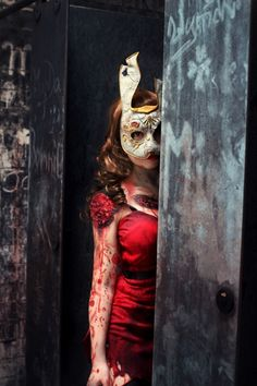 Bioshock - Splicer cosplay| the mask is perfect I need it