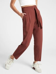 NEW Stylish Women/'s Solid Draped Skinny Faux Leather Fifth Pants Trousers Bottom