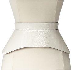 BCBGMAXAZRIA Zip Corset Waist Belt    <:>    @kimludcom