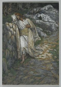 File:Brooklyn Museum - My Soul is Sorrowful unto Death (Mon âme est triste jusqu'à la mort) - James Tissot.jpg - Wikimedia Commons