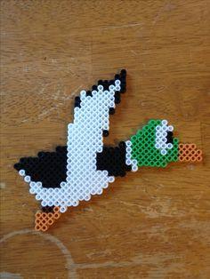 Duck Hunt perler #perler #perlerart