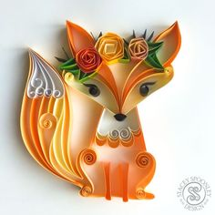 Photo by Quilling and Paper Artist on November Paper Quilling For Beginners, Paper Quilling Tutorial, Paper Quilling Patterns, Paper Quilling Jewelry, Quilling Techniques, Quilling Ideas, Arte Quilling, Origami And Quilling, Quilling Paper Craft