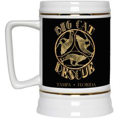 Just added this new Leopard TriAngle ... Check it out! http://catrescue.myshopify.com/products/leopard-triangle-big-cat-rescue-beer-stein-22-oz?utm_campaign=social_autopilot&utm_source=pin&utm_medium=pin