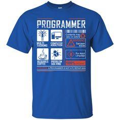 Job Programmer Tshirts Multi Tasking Computer Addiction Requires Coffee Hoodies Sweatshirts