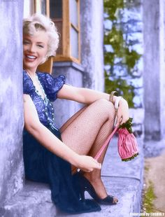 Marilyn Monroe photographed by Milton H Greene,1956