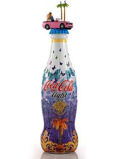 Super cute limited edition Versace coke bottle.
