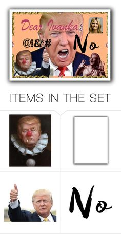 """""""Scary Clown"""" by metter1 ❤ liked on Polyvore featuring art and dearivanka"""