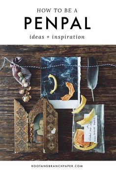 How to be a Pen Pal: Letter Writing Tips + Inspiration — Root & Branch Paper Co.
