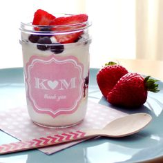 Mason Jar Yogurt Parfait - DIY Ideas by Beau-coup