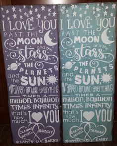 LOVE YOU TO THE MOON Engagement Signs, Daddy Daughter Dance, Inspirational Signs, Personalized Signs, Sign Quotes, Wedding Signs, Mother Gifts, Valentine Gifts, Wood Signs