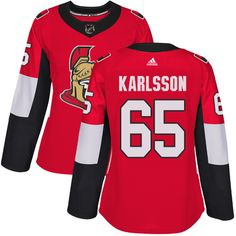 d7f9ab28f Adidas Ottawa Senators  65 Women s Erik Karlsson Authentic Red Home NHL  Jersey Mitchell And Ness