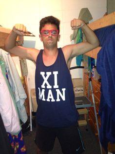 xi man! reppin alpha xi delta purdue university! #axid #alphaxidelta #purdue #ximan