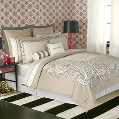 shopstyle.com: kate spade Highbury Paisley King Comforter