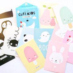 super cute set of 12 cards