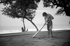 Marc Lacomare waxing his tailpad in Mexico. Photo: Testemale. Boardshorts:  Marc Lacomare waxing his tailpad in Mexico. Photo: Testemale. Boardshorts: http://quiksilver.com/AG47