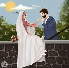 Image Couple, Cute Love Couple, Couples In Love, Cute Muslim Couples, Cute Anime Couples, Cute Love Images, Love Photos, Islam Marriage, Image Citation