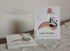 Stampin' Up! Party Pandas, Rainbows & Sunshines, Rainbow Framelits