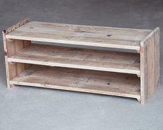 Étagère à chaussures en bois meubles de palette par PalletablesUK