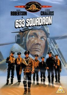 633 Squadron (new & sealed DVD / Cliff Robertson 1963)