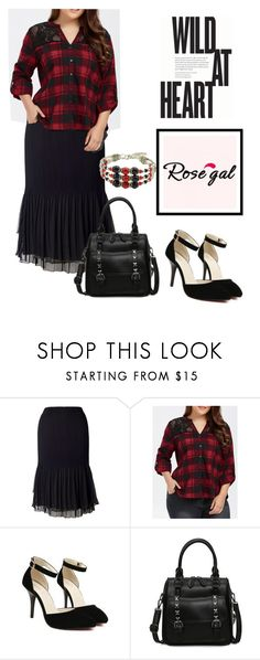 """""""Rosegal"""" by confusioninme ❤ liked on Polyvore featuring Chesca"""