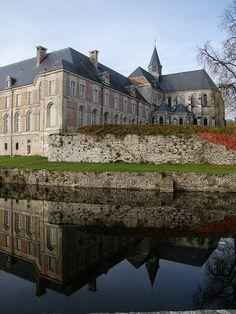 Saint Michel Abbey, Thiérache, Aisne, Picardy, France