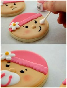 Baby Shower Cookies by Tuatha