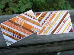 Selvage Blog: Elena Tells How to Make Selvage Postcards