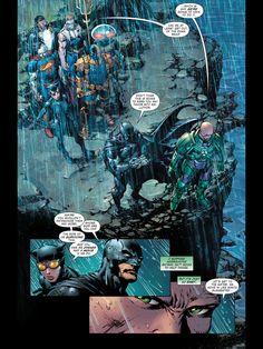 Forever Evil: Lex Luthor and Batman bonding