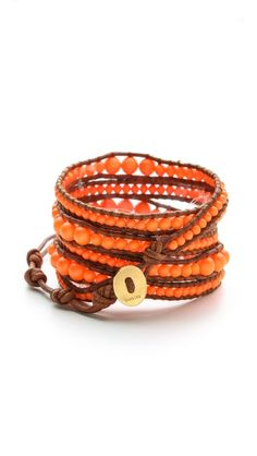 Chan Luu Neon Beaded Wrap Bracelet - gotta find supplies and diy