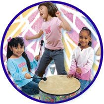 Preschool musical toys and instruments